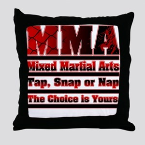 MMA Mixed Martial Arts - 3 Throw Pillow