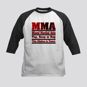 MMA Mixed Martial Arts - 3 Kids Baseball Jersey