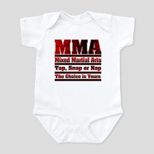 MMA Mixed Martial Arts - 3 Infant Bodysuit