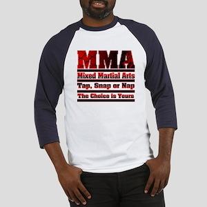MMA Mixed Martial Arts - 3 Baseball Jersey