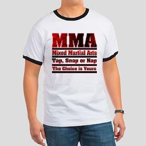 MMA Mixed Martial Arts - 3 Ringer T