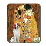 Kiss/Brittany Spaniel Mousepad