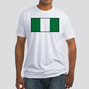Nigeria Fitted T-Shirt