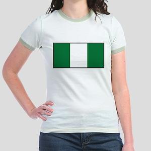 Nigeria Jr. Ringer T-Shirt