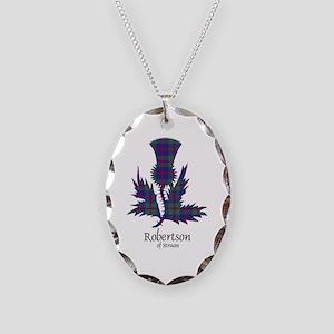 Thistle-RobertsonStruan Necklace Oval Charm