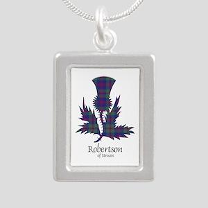 Thistle-RobertsonStruan Silver Portrait Necklace