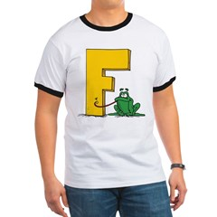 F is for Frog T