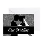 Our Wedding Bride And Groom 20 Greeting Cards