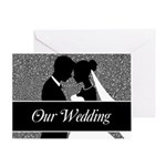 Our Wedding Bride And Groom Greeting Cards