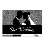 Our Wedding Bride And Postcards (package Of 8)
