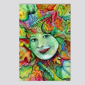 Goddess Greenwoman Postcards (Package of 8)