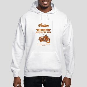 Riders - white hooded sweatshirt