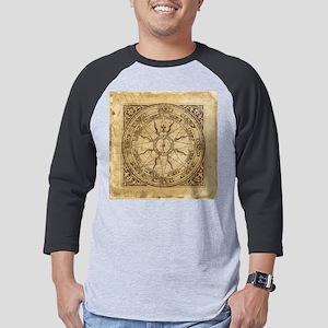 compass-4_tile Mens Baseball Tee