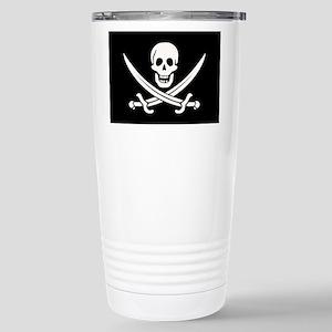 Calico Jack Pirate Stainless Steel Travel Mug