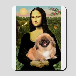 Mona's first Peke Mousepad