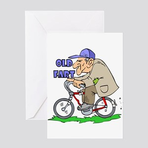 Old Fart Greeting Card