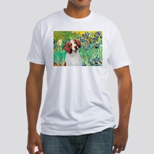 Irises/Brittany Fitted T-Shirt