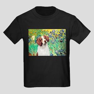 Irises/Brittany Kids Dark T-Shirt