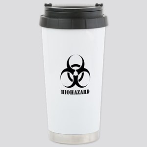 Biohazard Stainless Steel Travel Mug