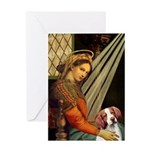 Madonna/Brittany Greeting Card