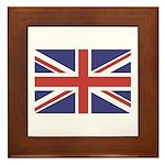UNION JACK UK BRITISH FLAG Framed Tile