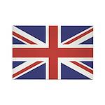 UNION JACK UK BRITISH FLAG Rectangle Magnet