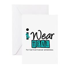 Cervical Cancer Greeting Cards (Pk of 10)