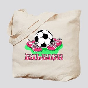 Rileigh Soccer Tote Bag
