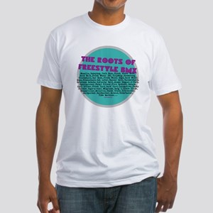 The Roots of Freestyle BMX - Fitted T-Shirt