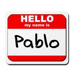 Hello my name is Pablo Mousepad