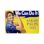 Sarah Palin We Can Do It Rectangle Magnet