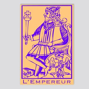 L'Empereur, Tarot Postcards (Package of 8)