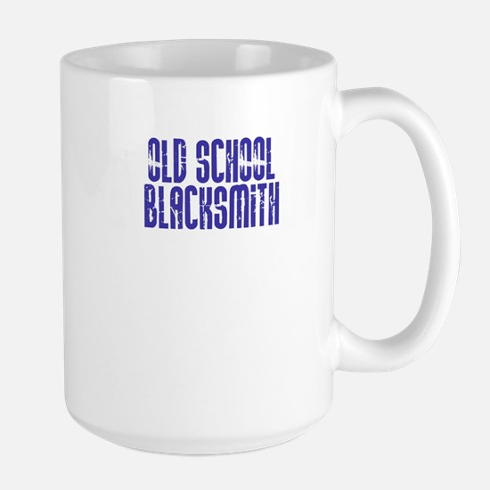 Old School Blacksmith Large Mug
