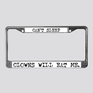Can't Sleep License Plate Frame