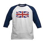 UNION JACK UK BRITISH FLAG Kids Baseball Jersey