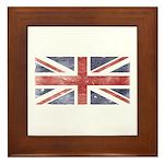 BRITISH UNION JACK (Old) Framed Tile