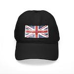 BRITISH UNION JACK (Old) Black Cap