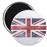 BRITISH UNION JACK (Old) Magnet