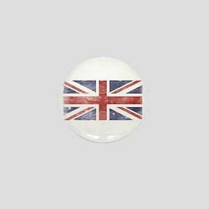 BRITISH UNION JACK (Old) Mini Button