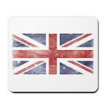 BRITISH UNION JACK (Old) Mousepad