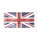 BRITISH UNION JACK (Old) Postcards (Package of 8)