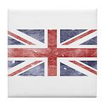 BRITISH UNION JACK (Old) Tile Coaster