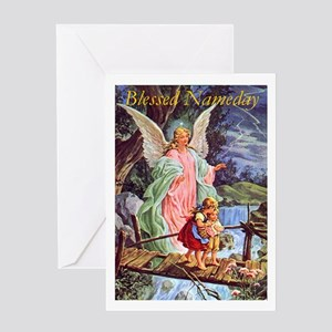 Feast day greeting cards cafepress nameday greeting cards m4hsunfo