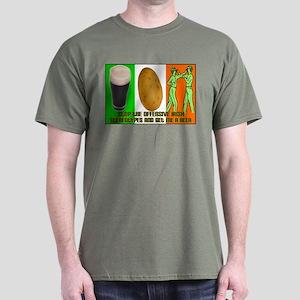 Irish Flag Offensive6 T-Shirt