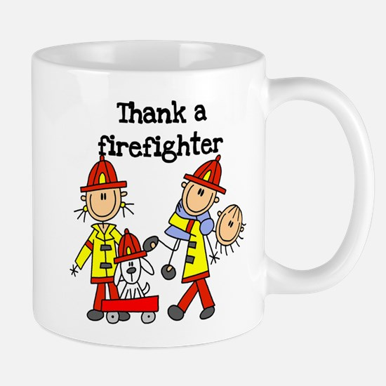 Thank a Firefighter Mug