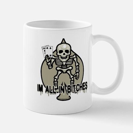 Halloween Poker Mug