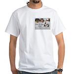 Save A Life White T-Shirt