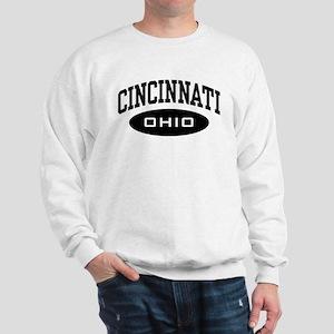 Cincinnati gifts cafepress cincinnati ohio sweatshirt negle Image collections