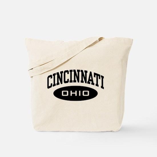 Cincinnati Ohio Tote Bag