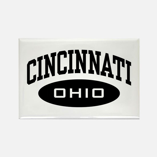 Cincinnati Ohio Rectangle Magnet